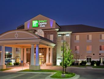Holiday Inn Exp A/P Exterior Visit Wichita