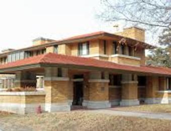 FLW Allen House exterior Visit Wichita