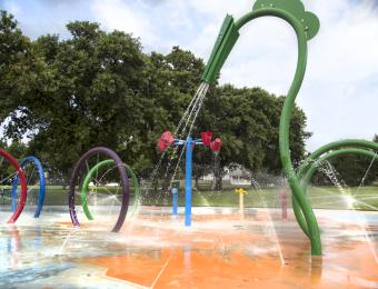 Fairmount Park Splash Pad