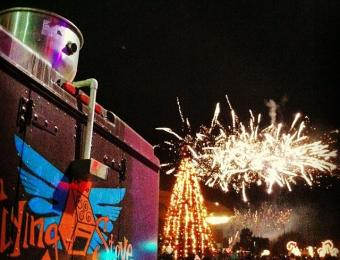 Fireworks Stove