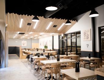 Meddys SE dining area Visit Wichita
