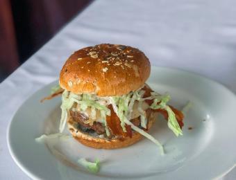 Greystone Restaurant burger