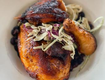 Greystone Restaurant jerk chicken