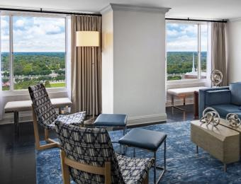 Hyatt Regency Wichita Presidential Suite