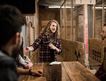 Blade & Timber instructing group Visit Wichita