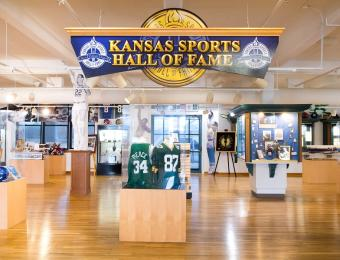 KS HoF Interior Entrance Visit Wichit