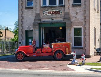 Kansas Firefighter Museum Exterior