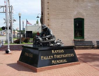 Kansas Firefighter Museum Fall Soldier Memorial