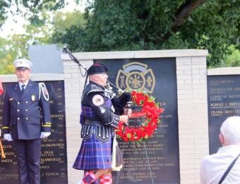 Kansas Firefighter Museum KS Fallen Firefighters Memorial Wall