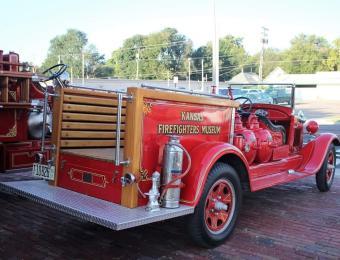 Kansas Firefighter Museum Truck