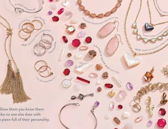 Kendra Scott Gift with heart