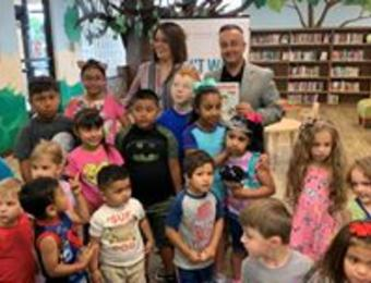 KHF Kids Reading Visit Wichita