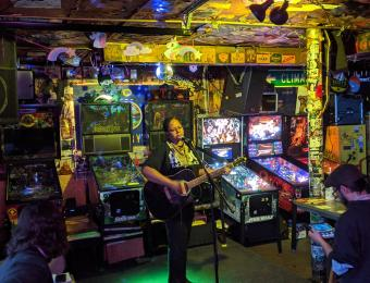 Kirby's Beer Store Pinball and Music