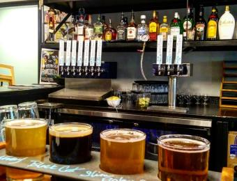 Limestone Beer Co  taps