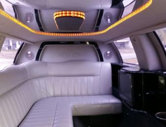 Triple's Limo Interior Visit Wichita