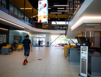 Lobby Steve Clark YMCA