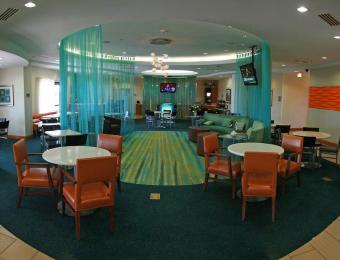SpringHill Plazzio Wichita lobby