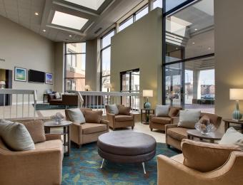 Candlewood E lobby Visit Wichita