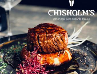 Chisholm's logo Visit Wichita