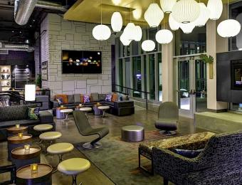 Aloft lounge Visit Wichita