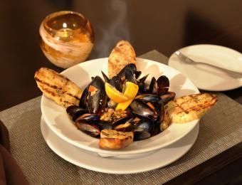 Marriott Fireside Mussels