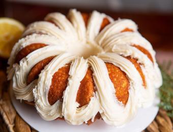 Monica's Bundt Cake partner provided Visit Wichita