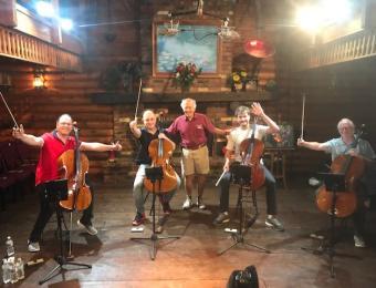 Chamber Music musicians Visit Wichita