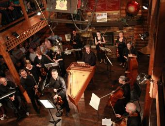 Chamber Music orchestra from above Visit Wichia