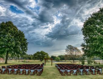 Prairie Hill outdoor wedding Visit Wichita
