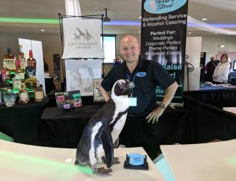 Shaken or Stirred Pat & Penguin Visit Wichita