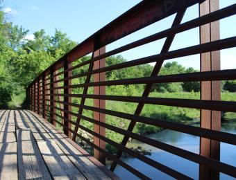 Pawnee Prairie Park Bridge