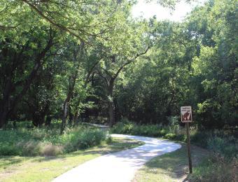 Pawnee Prairie Park Walking Trail