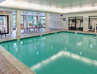 Pool Courtyard by Marriott Wichita East