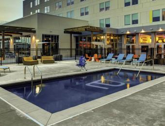 Aloft NE pool Visit Wichita