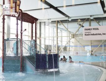 YMCA DT pools Visit Wichita