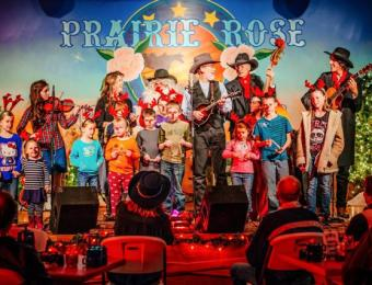 Prairie Rose Christmas Visit Wichita