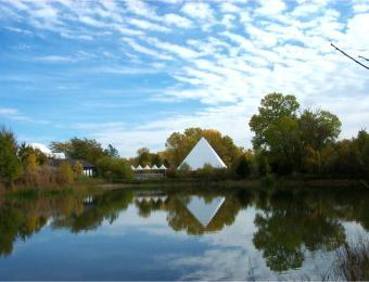 Riordan Pyramid Visit Wichita