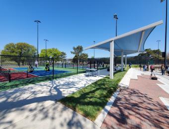 Ralph Wulz Riverside Tennis Courts Pavilion