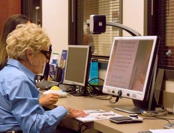 Envision reading monitor Visit Wichita