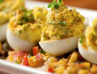 Redrock deviled eggs Visit Wichita