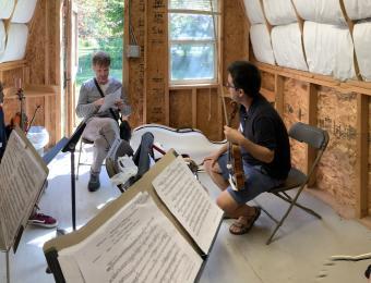 Chamber Music rehearsal Visit Wichita