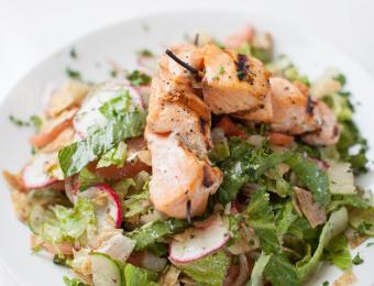 Meddys OT salmon salad Visit Wichita