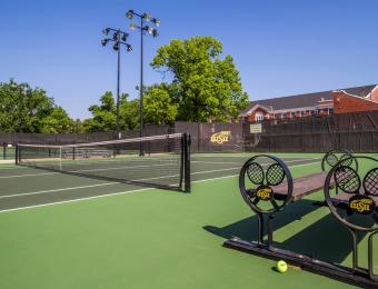 Sheldon Coleman Tennis Court and Benches