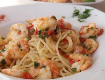 The Kitchen shrimp spaghetti Visit Wichita