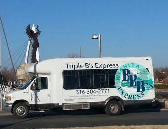 Triple B's Shuttle at The Keeper Visit Wichita