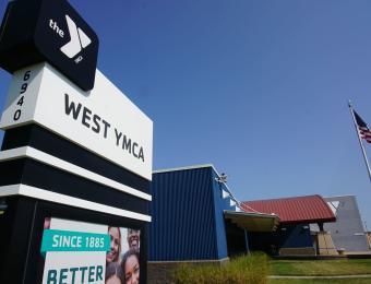 Sign West YMCA