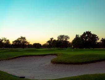 Arthur B. Sim Golf Course Sunset