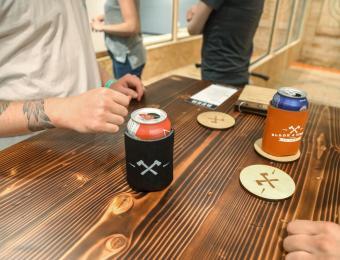Blade & Timber St. Pat's beer Visit Wichita