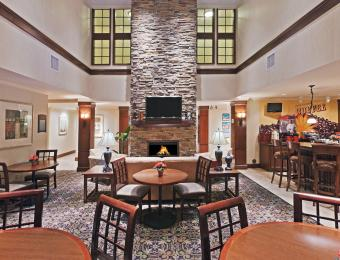 Staybridge Lobby Visit Wichita