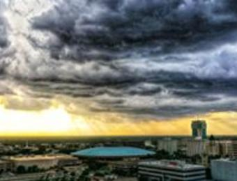 Drone-tography storm Visit Wichita